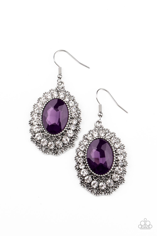 Paparazzi Accessories:  Glacial Gardens - Purple (105)