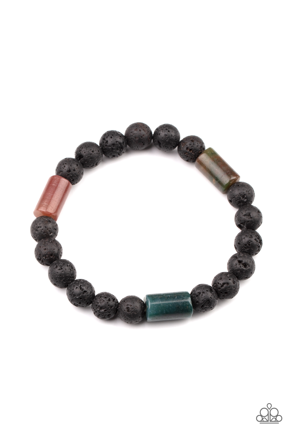 Paparazzi Accessories:  Earthy Energy - Green (2930)