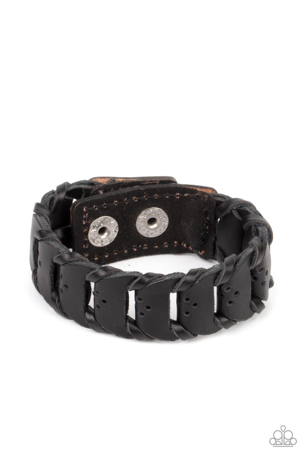 Paparazzi Accessories:  Knocked for a Loop - Black (2968)
