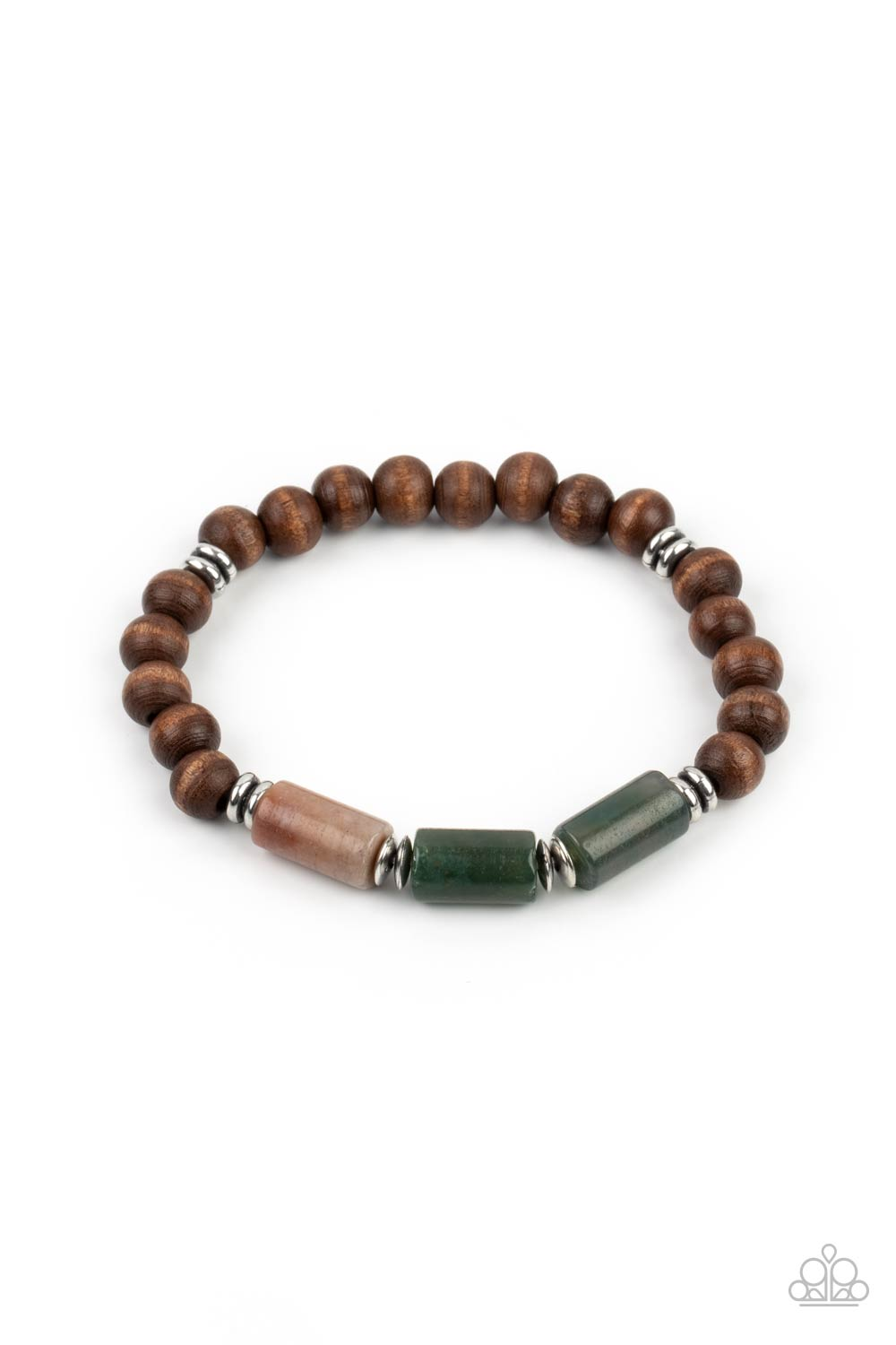 Paparazzi Accessories:  ZEN Most Wanted - Brown (2893)