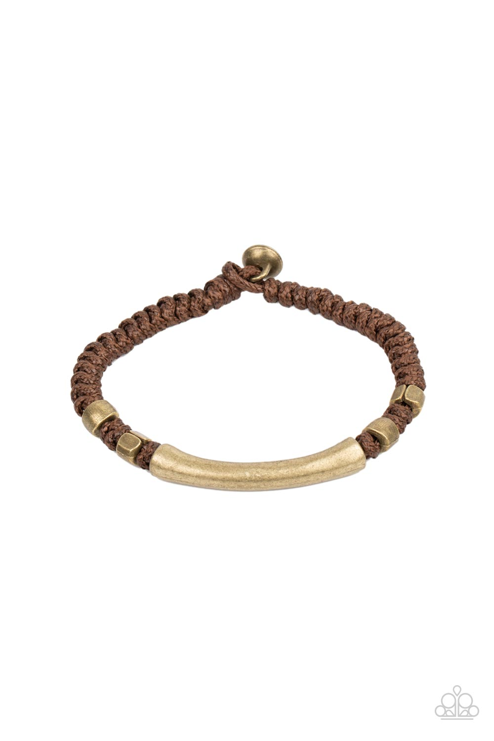 Paparazzi Accessories:  Grounded in Grit - Brown (2052)