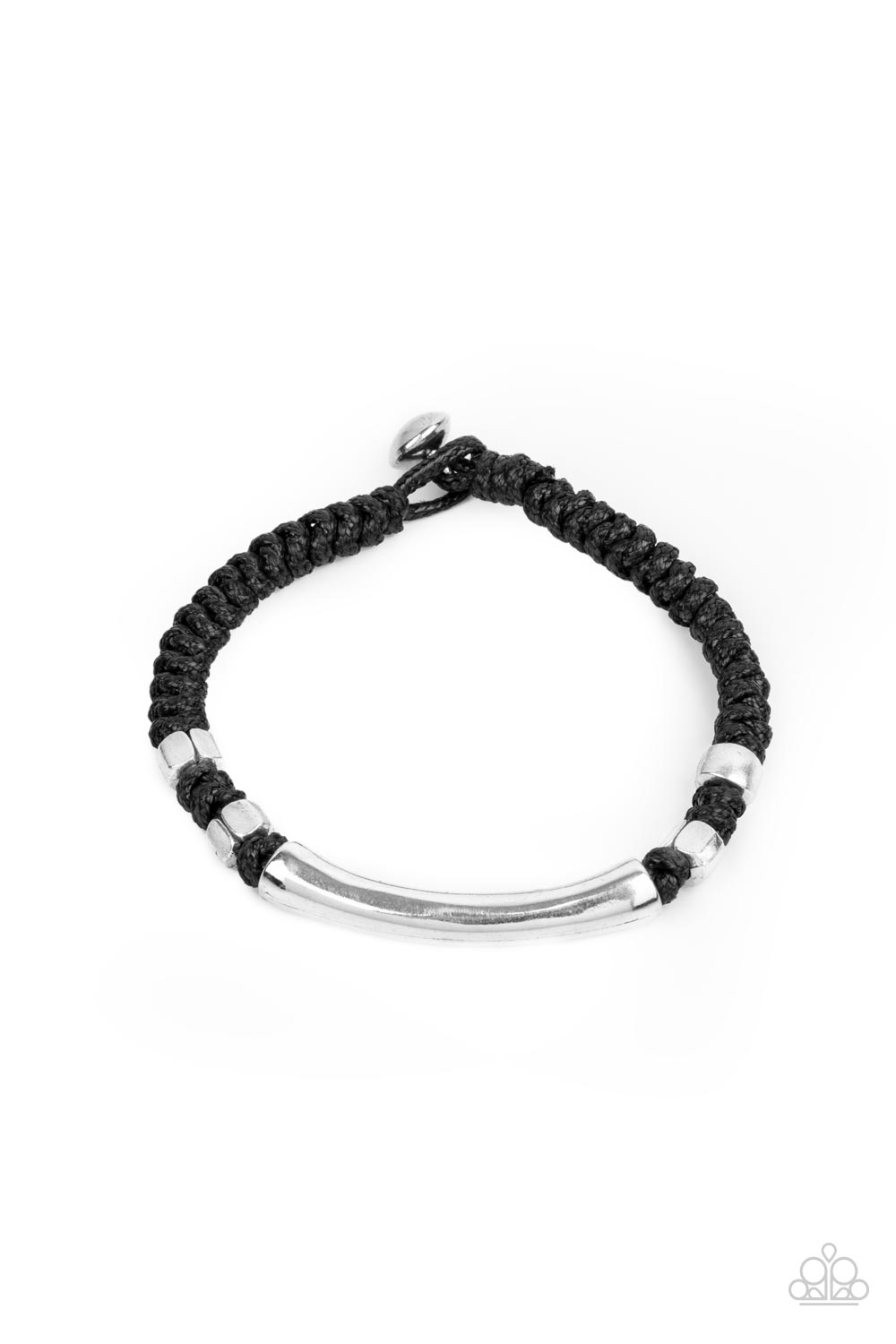 Paparazzi Accessories:  Grounded in Grit - Black (2121)