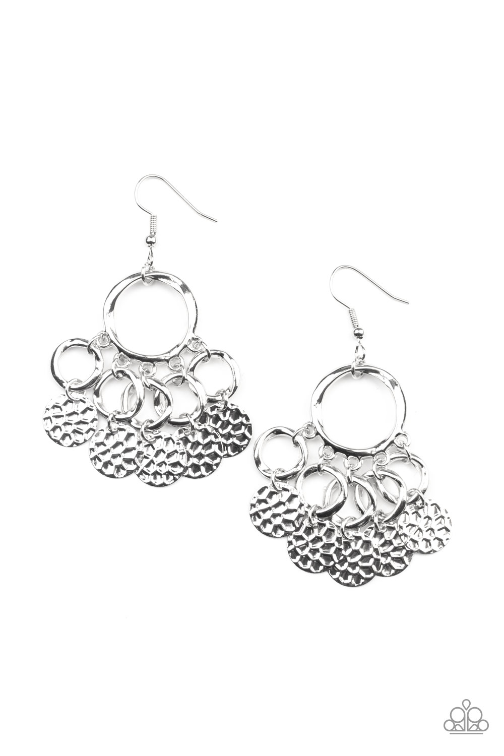 Paparazzi Partners in CHIME - Silver (3027)