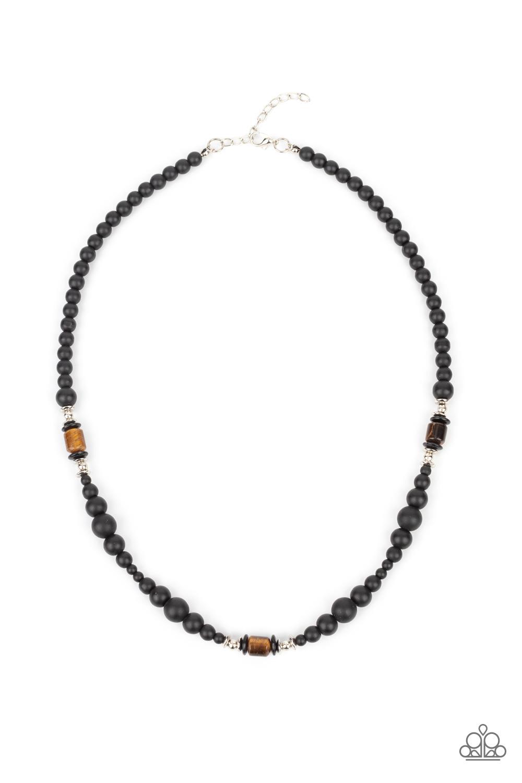 Paparazzi Accessories:  Stone Synchrony - Brown (2854)