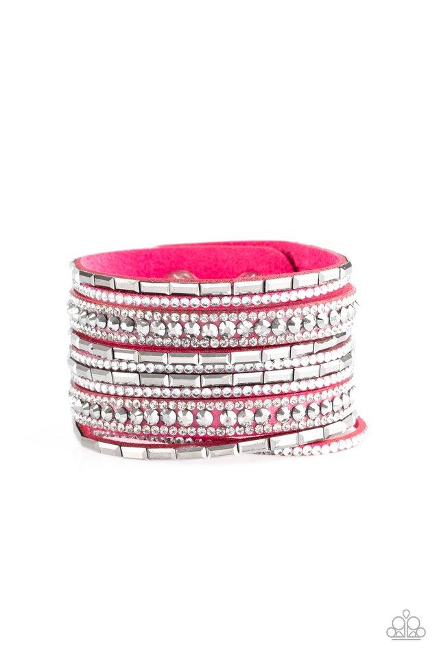 Wham Bam Glam - Pink - Paparazzi Bracelet Image