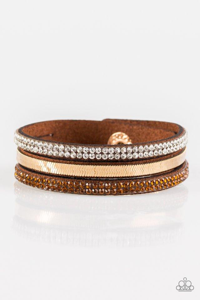 I Mean Business - Brown - Paparazzi Bracelet Image