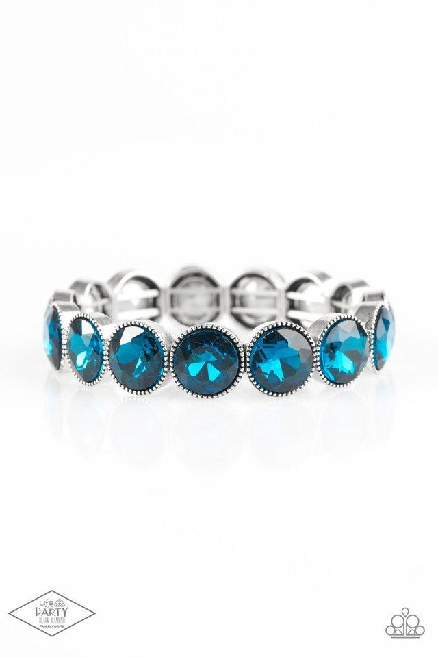 Number One Knockout - Blue - Paparazzi Bracelet Image