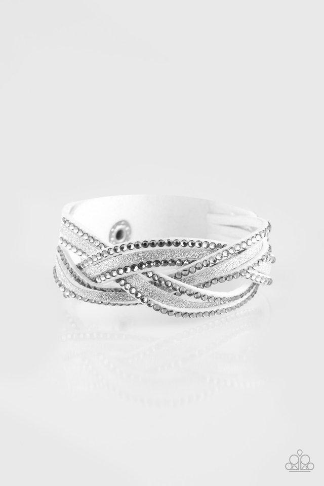 Girls Do It Better - White - Paparazzi Bracelet Image