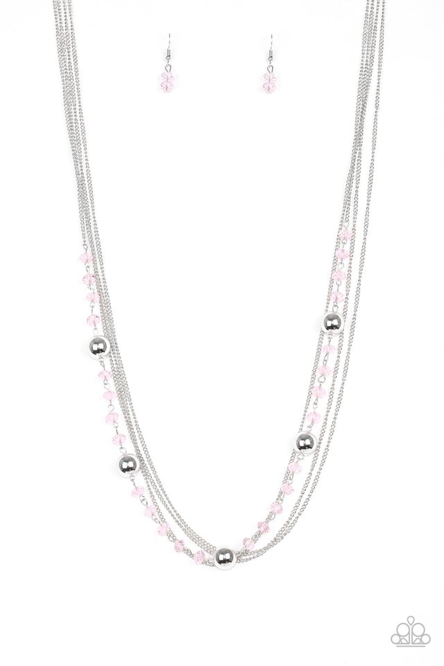 High Standards - Pink - Paparazzi Necklace Image