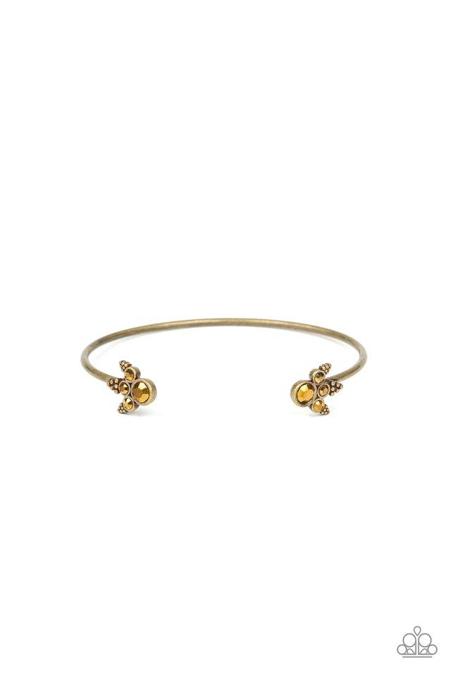A Bit Rich - Brass - Paparazzi Bracelet Image