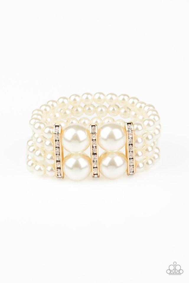 Romance Remix - Gold - Paparazzi Bracelet Image