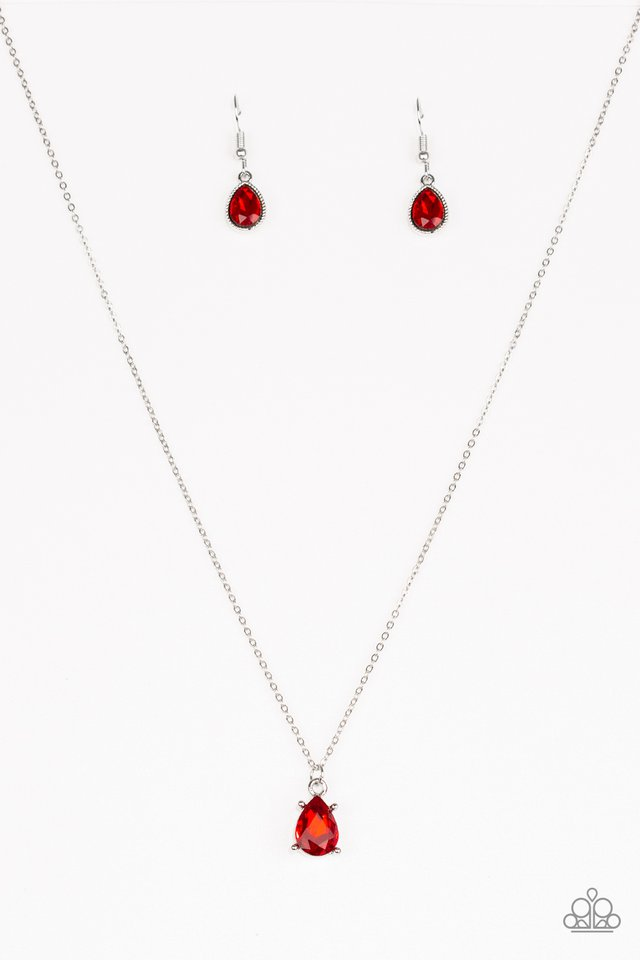 Classy Classicist - Red - Paparazzi Necklace Image