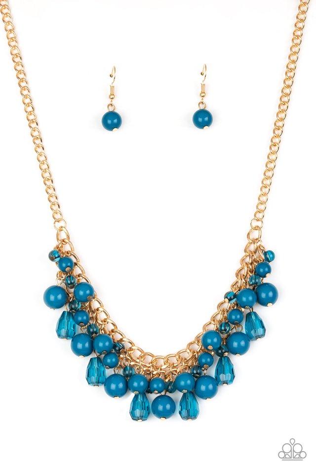 Tour de Trendsetter - Blue - Paparazzi Necklace Image