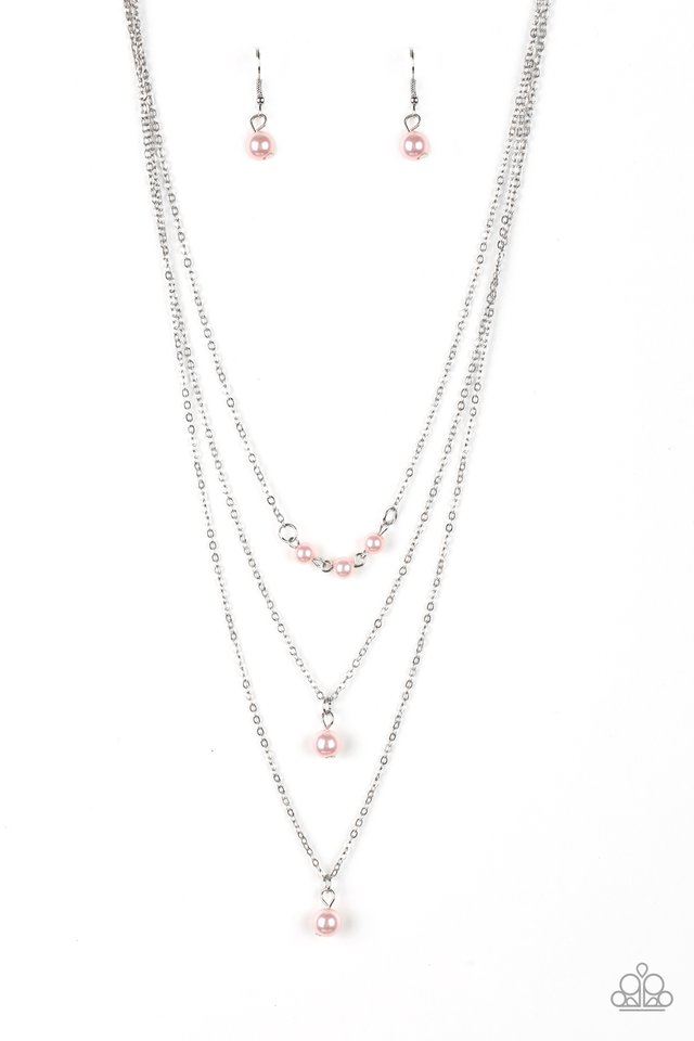 High Heels and Hustle - Pink - Paparazzi Necklace Image