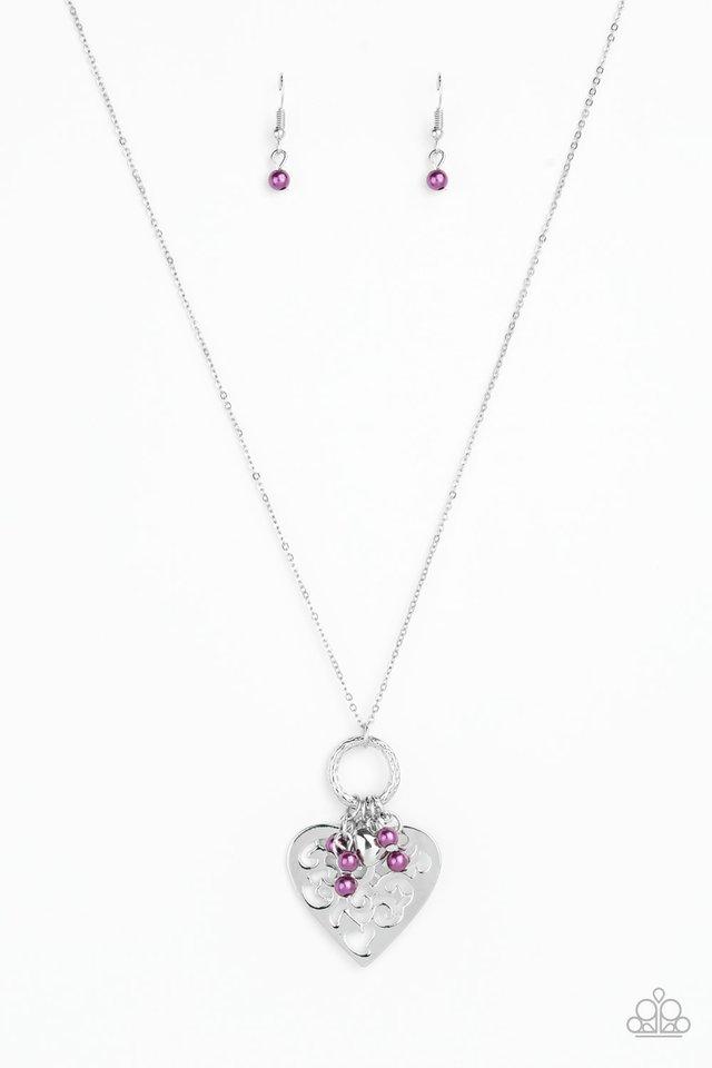 Romeo Romance - Purple - Paparazzi Necklace Image