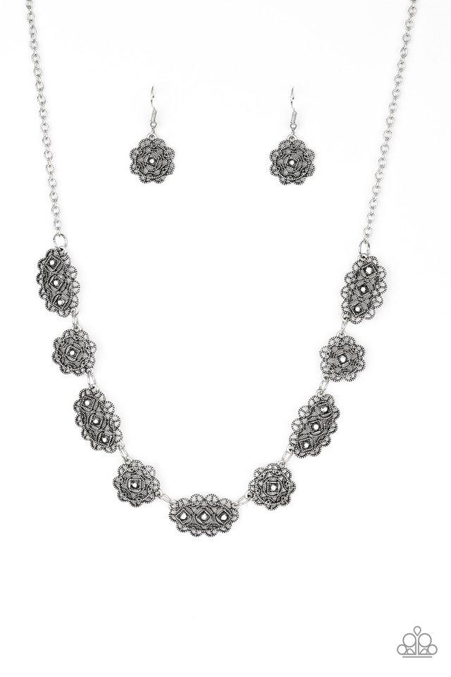Vintage Vogue - Silver - Paparazzi Necklace Image