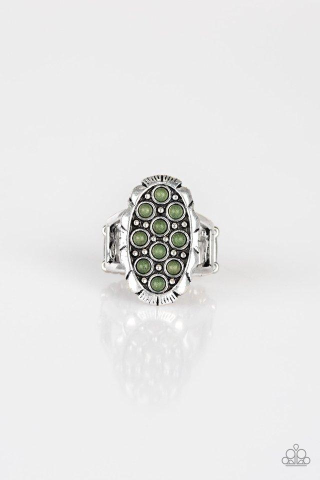Cactus Garden - Green - Paparazzi Ring Image