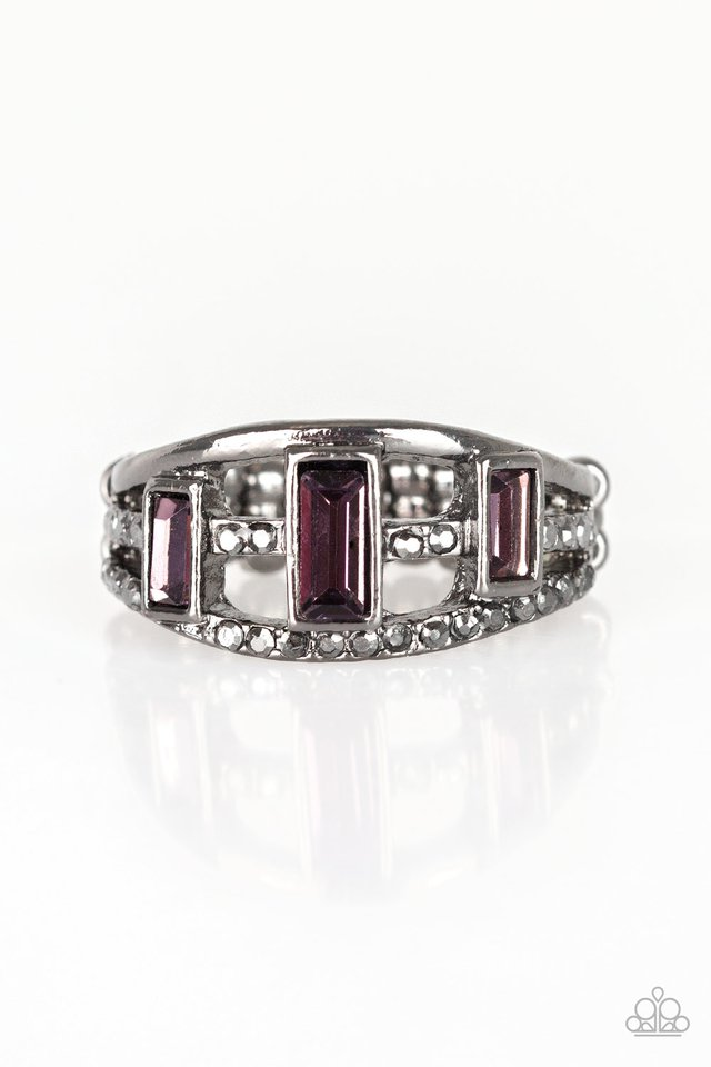 Noble Nova - Purple - Paparazzi Ring Image