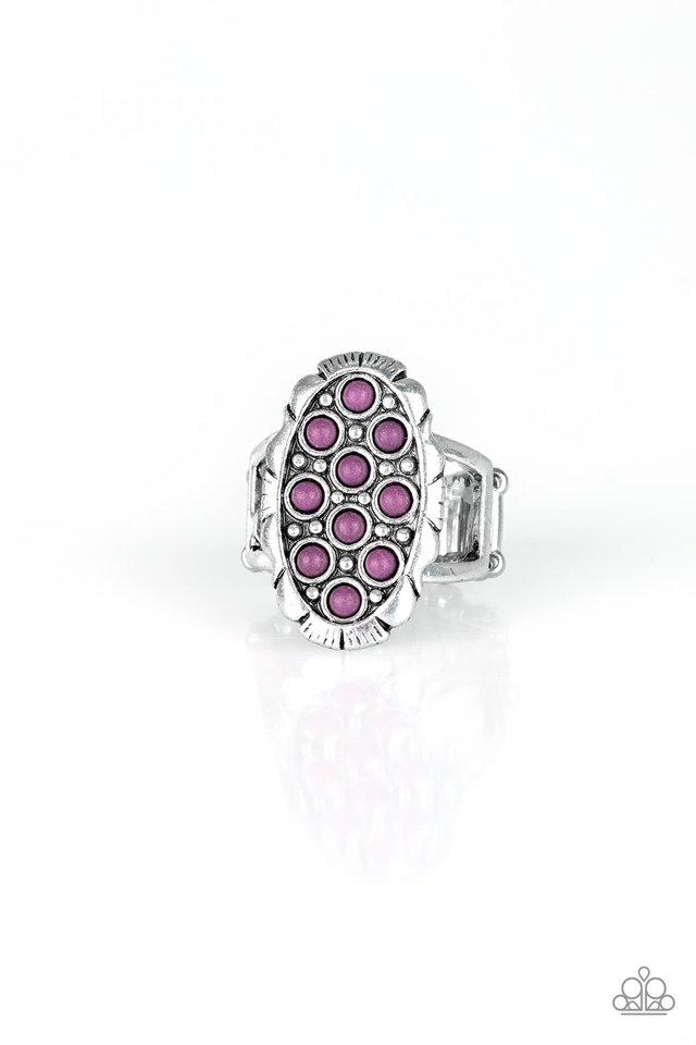 Cactus Garden - Purple - Paparazzi Ring Image