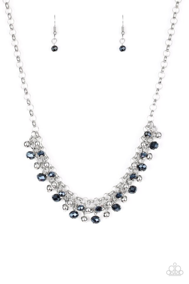 Trust Fund Baby - Blue - Paparazzi Necklace Image