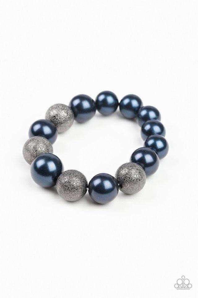 Humble Hustle - Blue - Paparazzi Bracelet Image