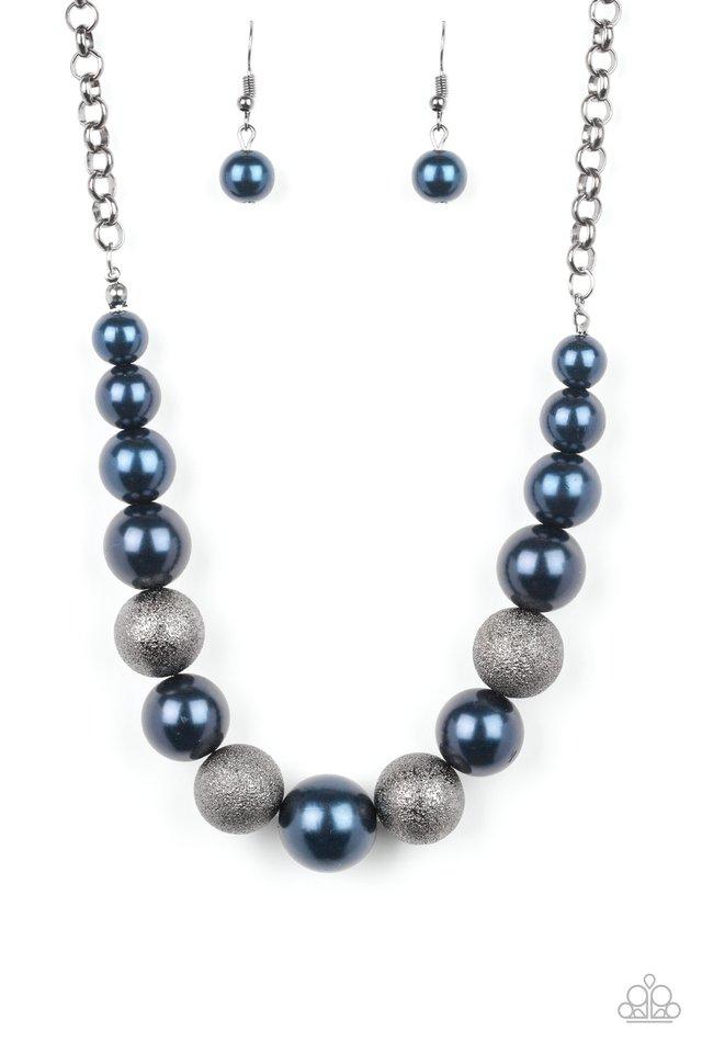 Color Me CEO - Blue - Paparazzi Necklace Image
