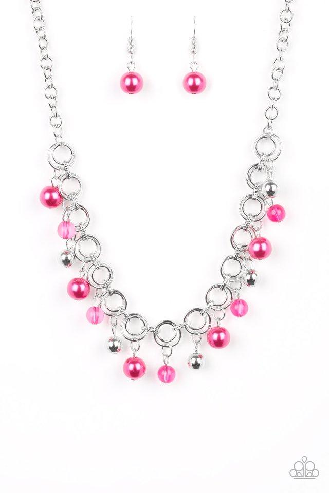 Fiercely Fancy - Pink - Paparazzi Necklace Image