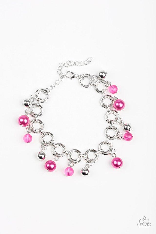 Fancy Fascination - Pink - Paparazzi Bracelet Image