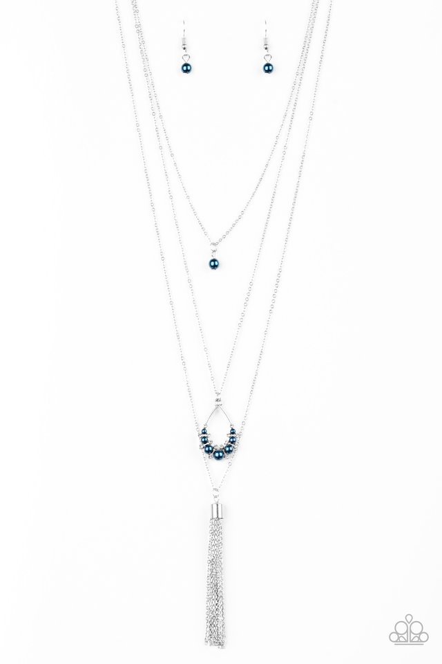 Be Fancy - Blue - Paparazzi Necklace Image
