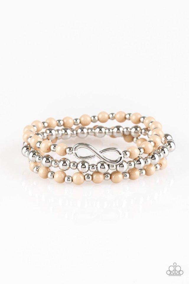 Immeasurably Infinite - Brown - Paparazzi Bracelet Image