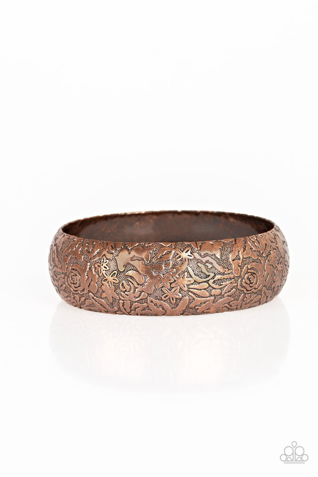 Garden Villa - Copper - Paparazzi Bracelet Image