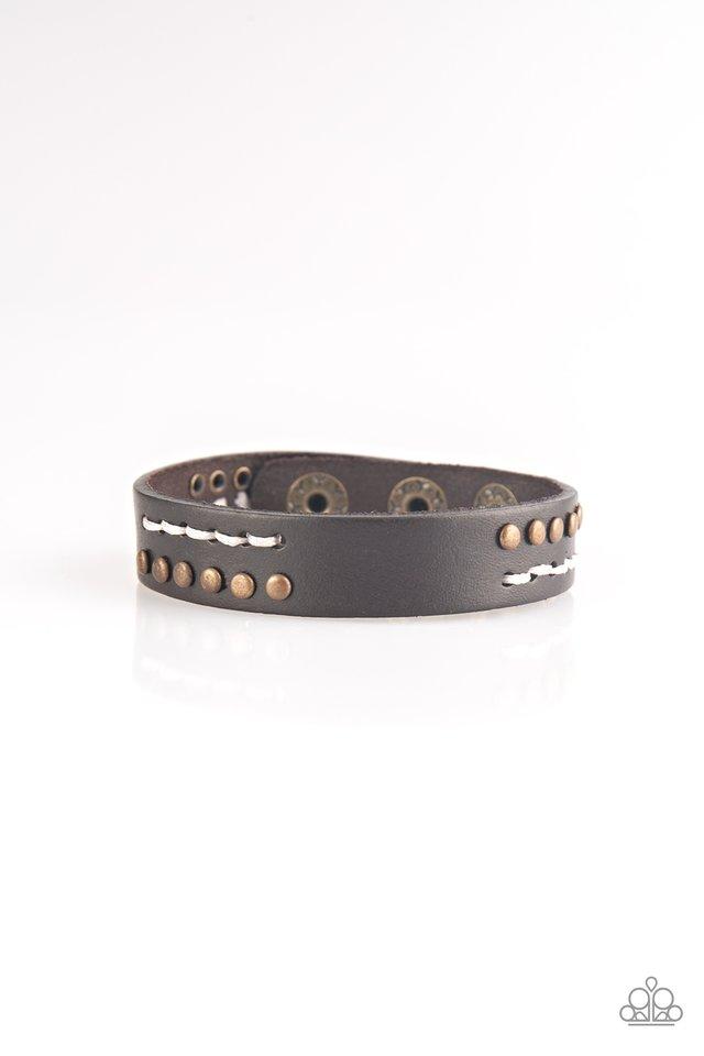 Always An Adventure - Brown - Paparazzi Bracelet Image