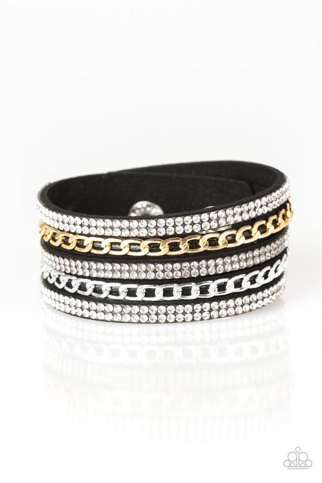 Fashion Fiend - Black - Paparazzi Bracelet Image