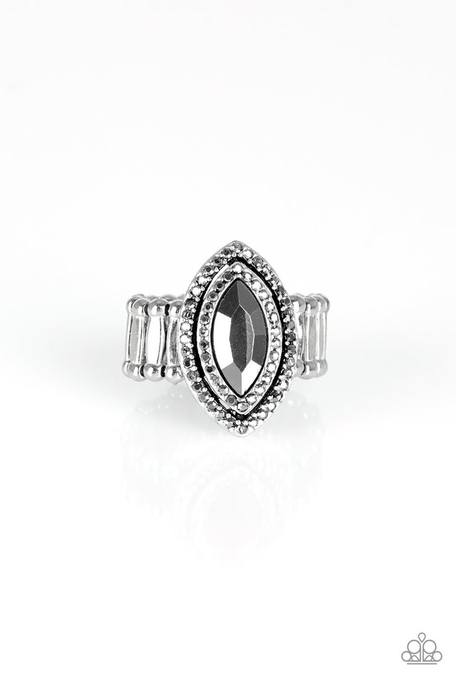 Modern Millionaire - Silver - Paparazzi Ring Image