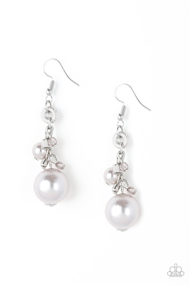 Timelessly Traditional - Silver - Paparazzi Earring Image