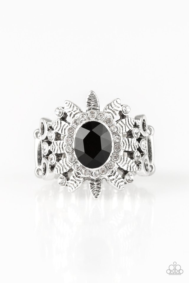 Burn Bright - Black - Paparazzi Ring Image