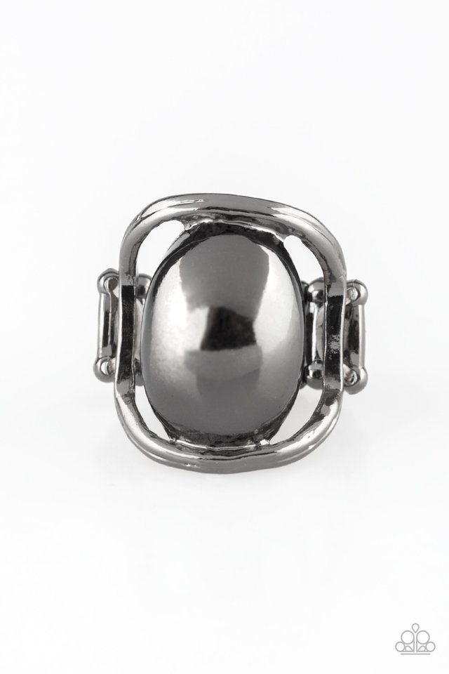 All Shine, All The Time - Black - Paparazzi Ring Image
