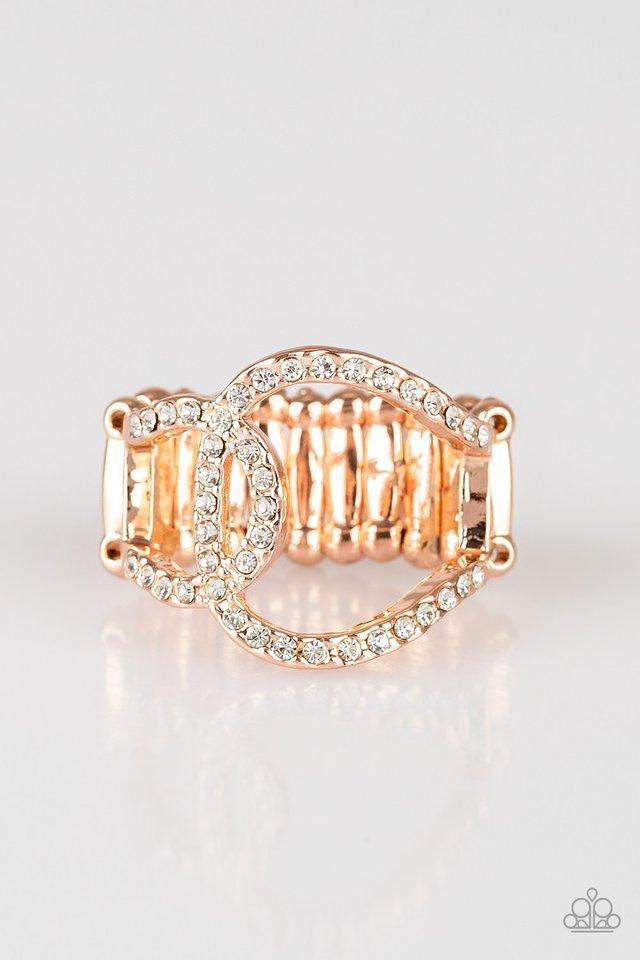 Radical Radiance - Rose Gold - Paparazzi Ring Image