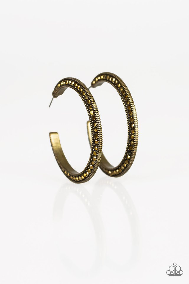 Dazzling Diamond-naire - Brass