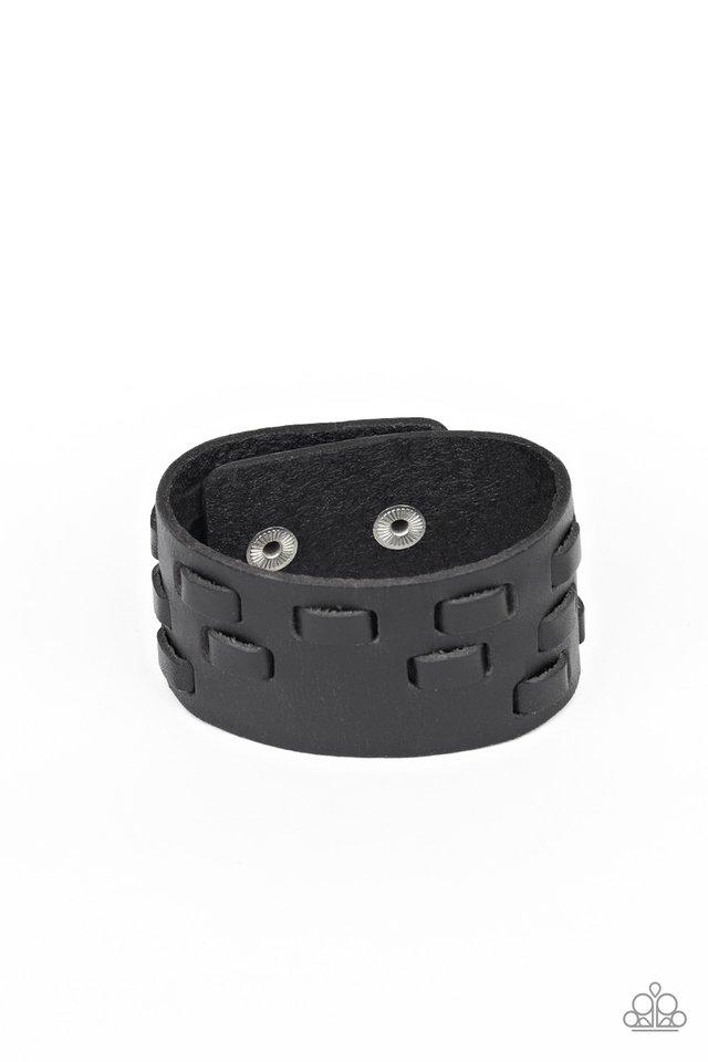 Rodeo Rampage - Black - Paparazzi Bracelet Image