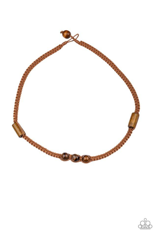 Honolulu Hustler - Brown - Paparazzi Necklace Image