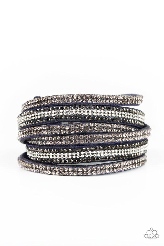 Royal Razzle - Blue - Paparazzi Bracelet Image