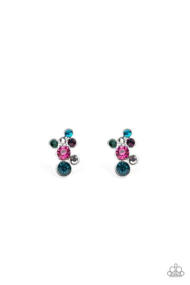 Treasure Treat - Multi - Paparazzi Earring Image