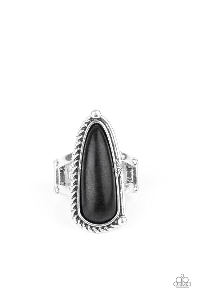 Pioneer Plains - Black - Paparazzi Ring Image