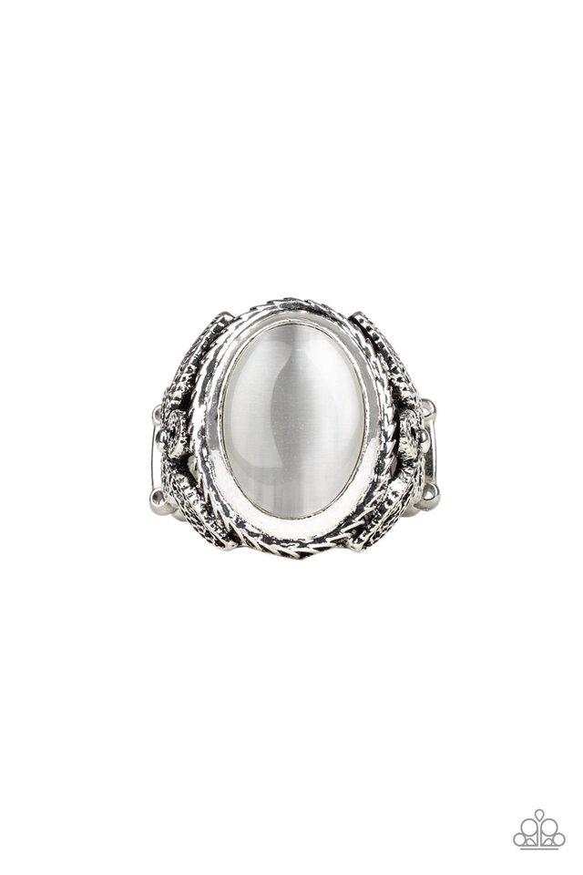 Deep Freeze - White - Paparazzi Ring Image
