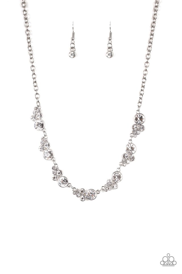 Social Luster - White - Paparazzi Necklace Image