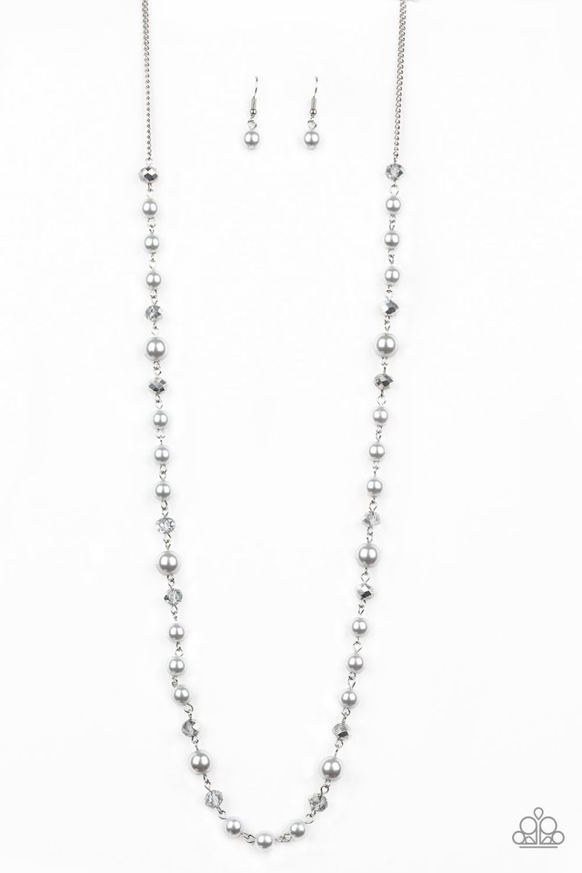 Pristine Prestige - Silver - Paparazzi Necklace Image