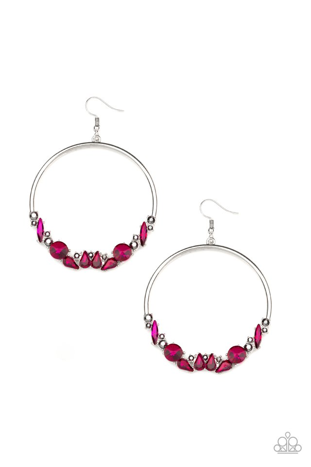 Business Casual - Pink - Paparazzi Earring Image