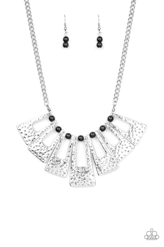 Terra Takeover - Black - Paparazzi Necklace Image