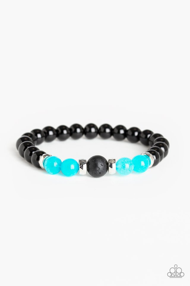 Super Serene - Blue - Paparazzi Bracelet Image
